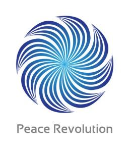 PeaceRevolutionLogoWite